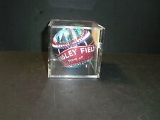 Vintage Unforgetaball Chicago Cubs Wrigley Field Limited Baseball in Cube