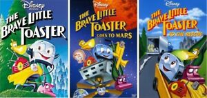 The Brave Little Toaster 1 2 3 Trilogy (3 DVD SET) NEW