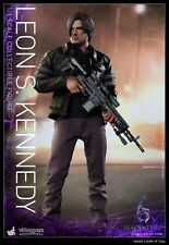 1/6 Hot Toys Resident Evil 6 VGM22 Biohazard Leon S. Kennedy Collectible Figure