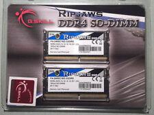 G. Skill Ripjaws 32GB (2x16GB) SO-DIMM DDR4-2400 PC4-19200 RAM. Brand New