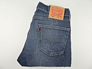 "VGC* LEVIS 505 Jeans Blue Stretch Denim Straight SIZE W32 L30 Waist 32"" Leg 30"""