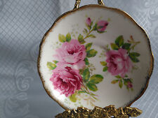 Royal Albert China American Beauty Saucer Pink Roses Perfect