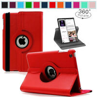 Leather 360 Rotating Smart Case Cover for Apple iPad2/3/4 2nd 3rd 4th Generation