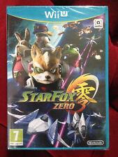 STAR FOX ZERO Nintendo Wii U WIIU  PAL VF FRANCAIS ++ 100% NEUF ++ Jeu STARFOX