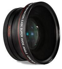 Nikon D3300 Wide Angle Lens D5500 55 mm Macro Close Up 18-55mm f / 3.5-5.6 G VR NUOVO