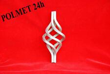 Zierelement Zwirbel-Korb, Zirbel, Schmiedeeisen, Zierkorb ''4'' 12x12 Höhe 130mm