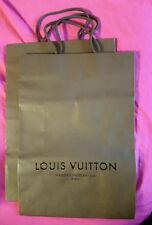Sac papier cadeau shopping LOUIS VUITTON 35,5 x 25 cm - Large Paper Bag -