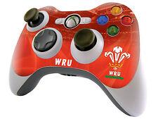 Gales Rugby controlador de Xbox 360 Piel pegatina Welsh Rfu Nuevo