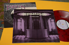 PAATOS LP TIMELOSS 1°ST ORIG 2003 MULTICOLOR VINYL + BOOKLET TOP NM AUDIOFILI