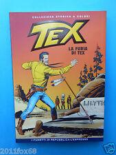 comics tex n. 48 collezione storica a colori la furia di tex fumetti repubblica