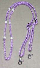 Adjustable Braided 6 Knot Barrel Contesting Reins