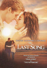 THE LAST SONG - MILEY CYRUS - WIDESCREEN DVD - LIKE NEW- FREE SHIPPING