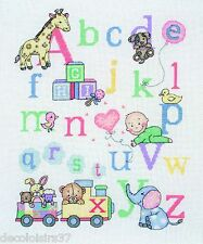 Anchor  ACS37  Petit Alphabet  Kit  Broderie  Point de Croix  Compté