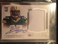 EDDIE LACY 2013 NATIONAL TREASURES TRUE ROOKIE RPA PATCH ON CARD AUTO #72 /99