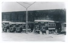 Yorks Rotherham MEXBOROUGH Depot Trams Photograph Packer c1950/60s? print