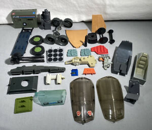 VINTAGE GI JOE VEHICLE PARTS WEAPON & ACCESSORIES LOT