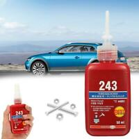 50ml Liquid Medium Strength 243 Threadlocking Adhesives to M20 Thread For M8 DIY