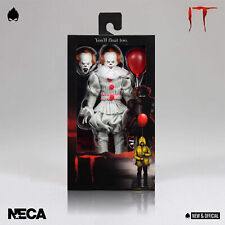 "NECA - Pennywise IT 2017 Clothed 8"" Action Figure [IN STOCK] • NEW & OFFICIAL •"