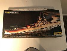Heller 1/400 Jean Bart Model Kit Sealed Parts