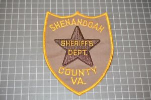 Shenandoah Virginia Sheriff's Department Patch (US-Pol)