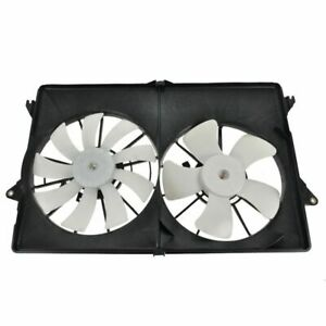 AC Dual Radiator Cooling Fan Assembly NEW for 04-06 Chrysler Pacifica w/ A/C