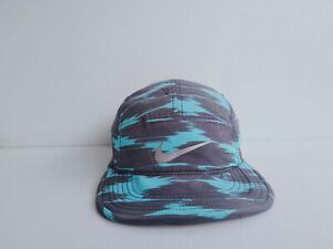 Nike 5 panel AW84 DRI-FIT Hat Cap Blue-Black No.2
