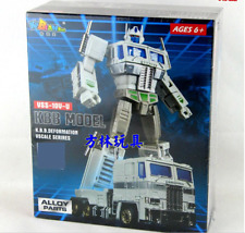 Transformers: the metal version of the MP10V-U white optimus prime alloy
