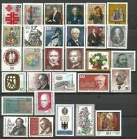 Germany (Berlin) 1967-1979 Collection MNH commemorative stamps 30 issues #B2