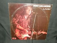 RORY GALLAGHER  LIVE! / 1972 POLYDOR RECORDS PD-5513