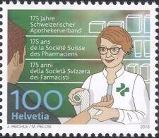 Switzerland 2018 Pharmacist/Pharmacy/Health/Medical/Welfare/Nurse 1v (ch1052)