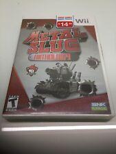 NEW FACTORY SEALED Metal Slug Anthology Nintendo Wii