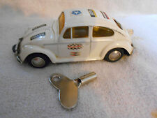 1960's Schuco Volkswagen 1046 Racer Car Windup Tin Litho Made in W Germany