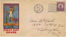 Olympische Spiele Los Angeles 1932  FDC