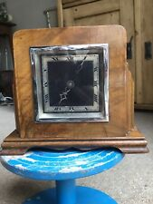 Antique Art Deco Swiss Buren Mantle Marriage Clock
