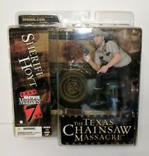 TEXAS CHAINSAW MASSACRE SHERIFF HOYT ACTION FIGURE MOVIE MANIACS 7 MCFARLANE