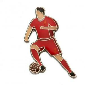 LIVERPOOL FC ENAMEL PLAYER PIN BADGE - OFFICIAL FOOTBALL GIFT