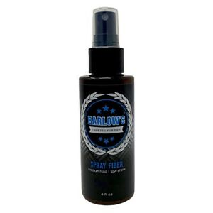 Barlow's Crafted for Men Spray Fiber Medium Hold 4 Oz.