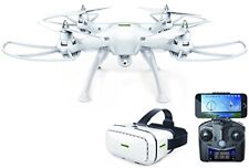 P70 ProMark Drone with 3D VR Goggles and HD Camera, White