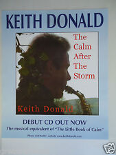 MOVING HEARTS KEITH DONALD  CONCERT GIG POSTER 1999 UNRELEASED PRINTERS POSTER