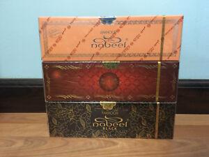 Lot of 36 x (40 g) Bakhoor Nabeel/Nasaem/Black Incense Oud Solid Bar بخور نبيل