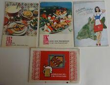 4 postcards of the USSR , Czech