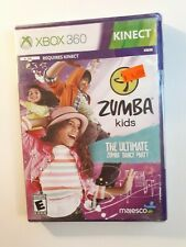 XBOX 360 DANCING GAME ZUMBA KIDS BRAND NEW & FACTORY SEALED - FAST FREE SHIPPING