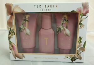 """(CRD) Ted Baker """"Pretty Little Blossom"""" Toiletry Set"""