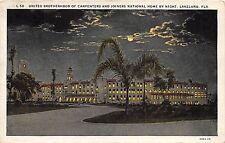 A36/ Lakeland Florida Fl Postcard c1910 United Brotherhood Carpenters Joiners