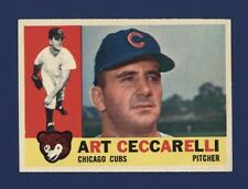 1960 Topps ART CECCARELLI #156 (NMMT) Chicago Cubs !!