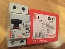 Legrand 6A type c 2 double pôle rcd interrupteurs 07883