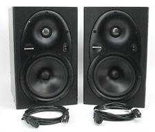 Pair of Mackie HR624 FR Series Powered Studio Monitor Speakers