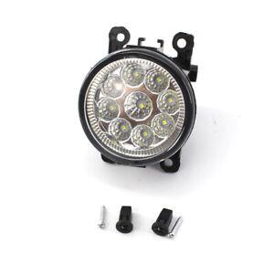 L or R LED Round Front Fog Lamp DRL Daytime Running Light for Ford Focus 2008-14