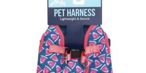 dog harness, summer prints