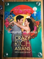 Crazy Rich Asians DS Theatrical Movie Poster 27x40